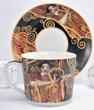 DELUXE by MJS Gustav Klimt - Hygieia - Kaffeetasse Set