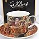 DELUXE by MJS Gustav Klimt - Hygieia - Kaffeetasse Set in Geschenkbox