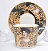 DELUXE by MJS Gustav Klimt - Adele Bloch Bauer - Kaffeetasse Set