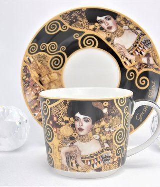 DELUXE by MJS Gustav Klimt - Adele coffee cup set