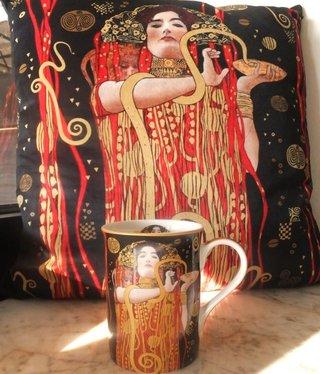 CARMANI - 1990 Gustav Klimt  - Hygieia - Kissen