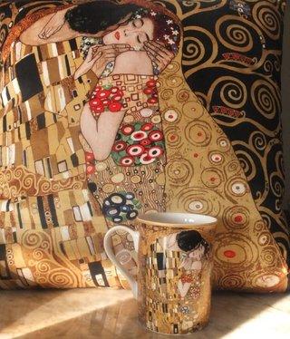 CARMANI - 1990 Gustav Klimt - Der Kuss - Kissen