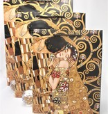 CARMANI - 1990 Gustav Klimt - Tree of Life - Gift bag S in Nero