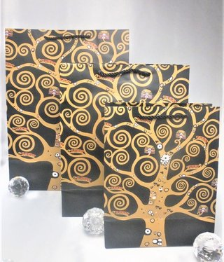 CARMANI - 1990 Gustav Klimt - Gift bag XL - Tree of Life / The kiss