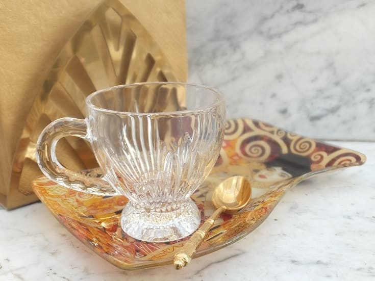Mit Gustav Klimt servieren & dekorieren ...