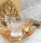 CARMANI - 1990 Gustav Klimt - Glasteller -S- Form -Adele Bloch Bauer