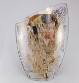 CARMANI - 1990 Gustav Klimt - Der Kuss - Vase aus Glas   III