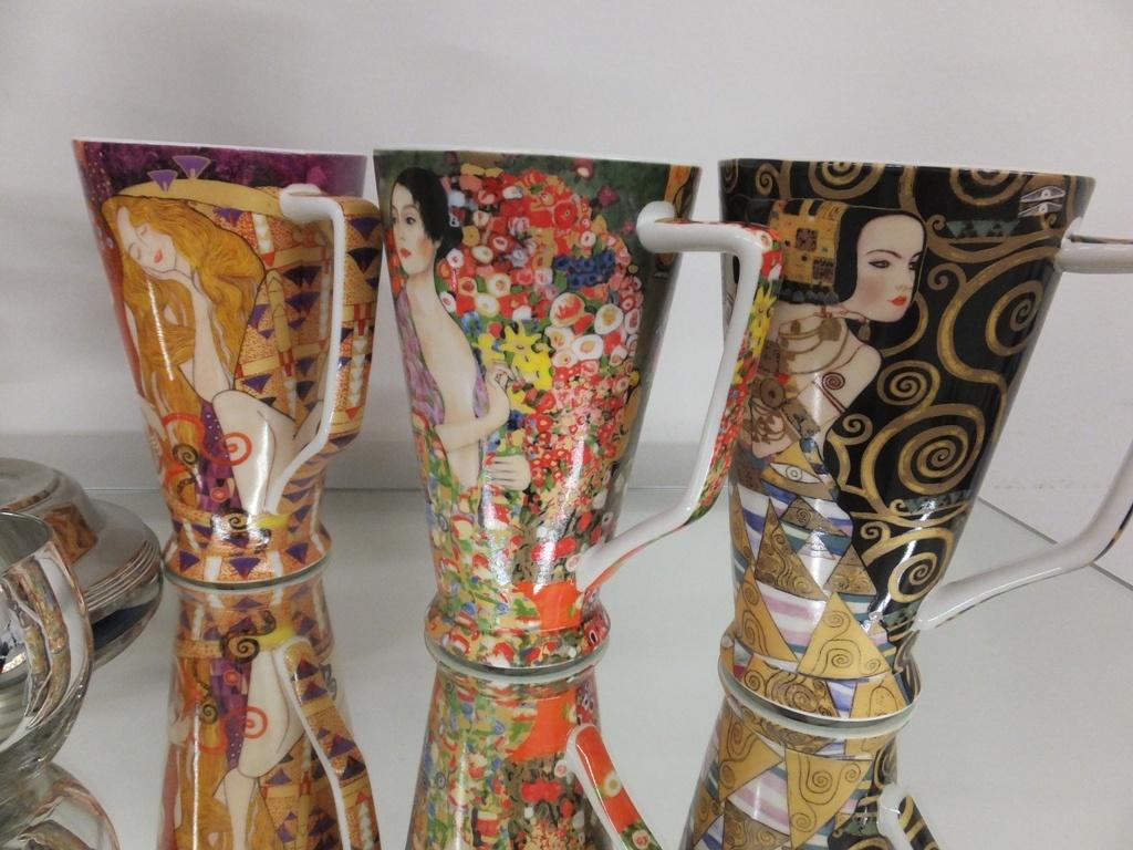 CARMANI - 1990 Gustav Klimt - Beethovenfries - XL Tasse