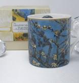 CARMANI - 1990 Vincent van Gogh - almond tree coffee cup incl. Gift box