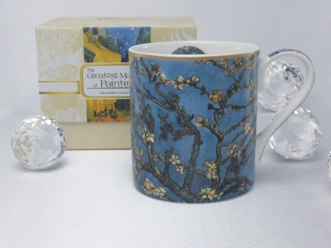 CARMANI - 1990 Vincent van Gogh - Mandelbaum- Kaffeetasse inkl. Geschenkbox