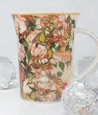 CARMANI - 1990 Van Gogh - Rosen -Kaffeetasse X