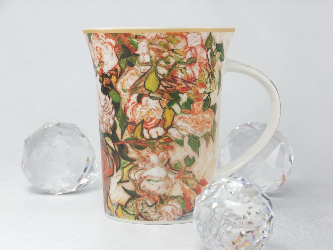 CARMANI - 1990 Vincent van Gogh - Rose coffee cup in gift box