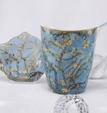 CARMANI - 1990 Vincent van Gogh - Almond tree - Coffee cup Vanessa in gift box