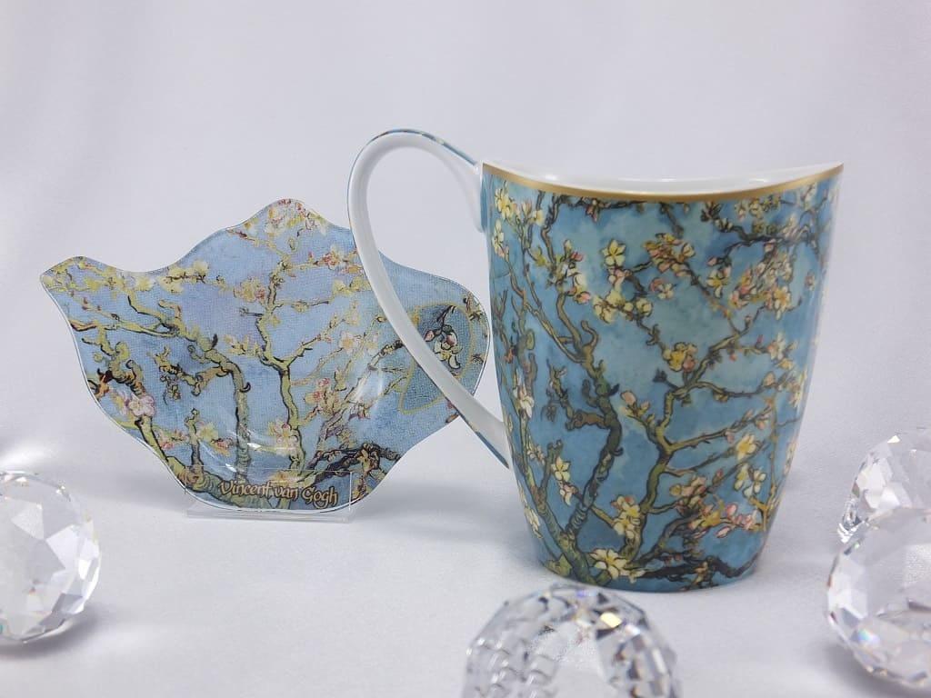 CARMANI - 1990 Vincent van Gogh - Mandelbaum - Kaffeetasse Vanessa in Geschenkbox