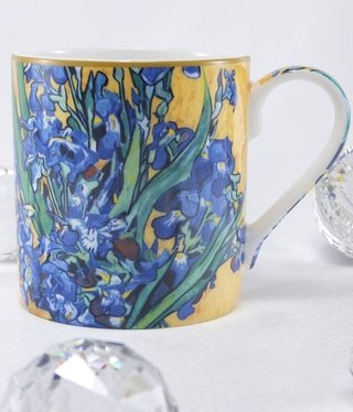 CARMANI - 1990 Van Gogh - Irises - Coffee Cup