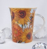 CARMANI - 1990 Vincent van Gogh - Sunflowers - Coffee cup in gift box