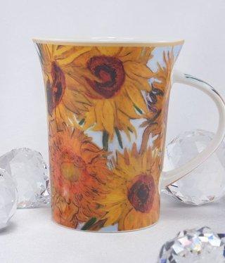 CARMANI - 1990 Van Gogh - Sonnenblumen - Kaffeetasse X