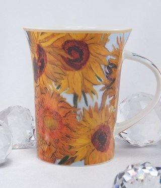 CARMANI - 1990 Van Gogh - Sunflowers - Coffee Cup X