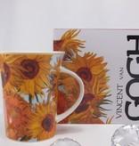 CARMANI - 1990 Vincent van Gogh - Sonnenblumen - Kaffeetasse in Geschenkbox