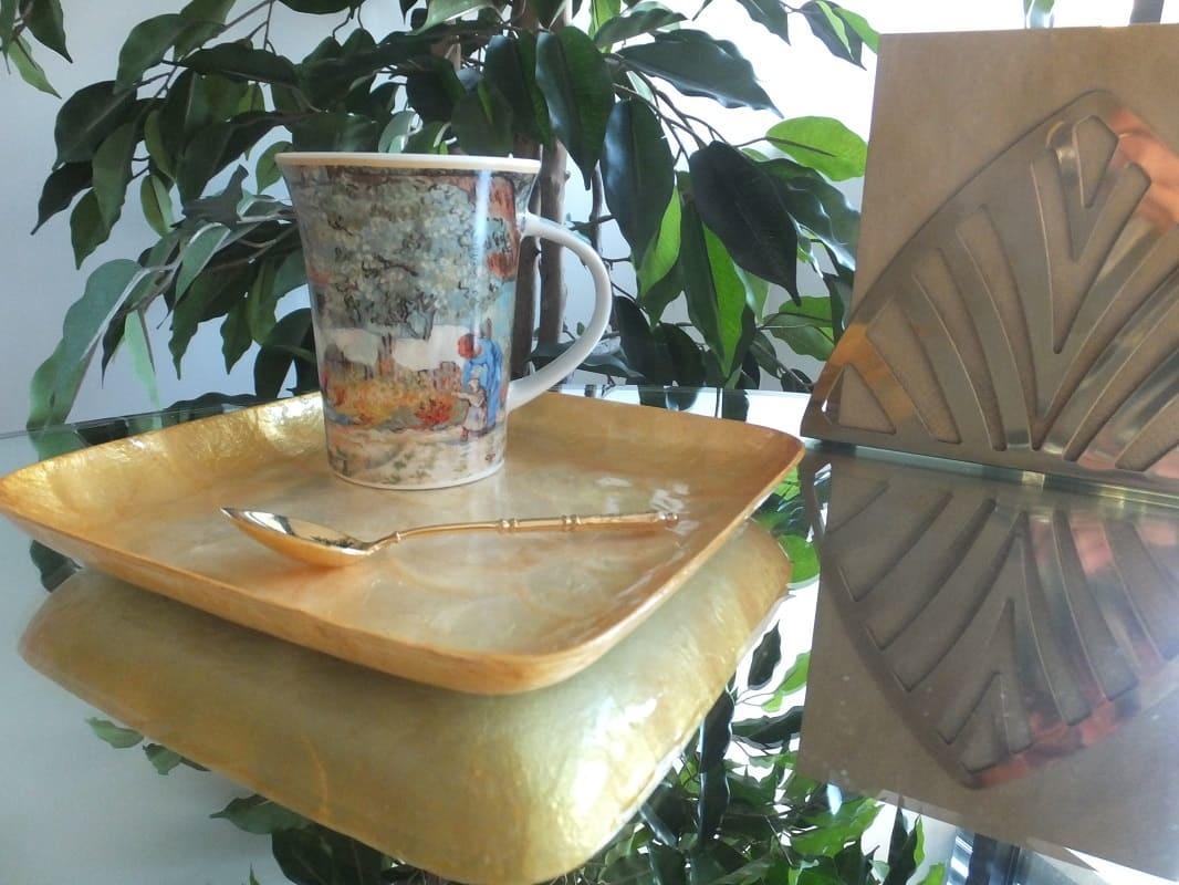CARMANI - 1990 Vincent van Gogh - First step - Kaffeetasse in Geschenkbox