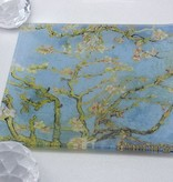 CARMANI - 1990 Vincent van Gogh - Glasteller - Mandelbaum  13 x 13 cm