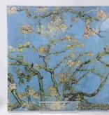 CARMANI - 1990 Vincent van Gogh - Glass plate - Almond tree 13 x 13 cm