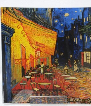 CARMANI - 1990 Van Gogh - The Night Café Glass Plate