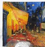 CARMANI - 1990 Vincent van Gogh - Das Nachtcafé - Glastablett 13 x  13 cm