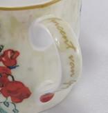 CARMANI - 1990 Vincent van Gogh - Margeriten und Mohnblumen - Kaffeetasse  &  Geschenkbox