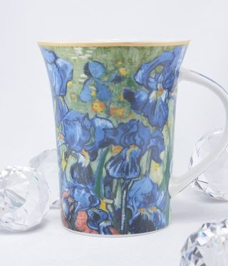 CARMANI - 1990 Van Gogh - Irises - Coffee Cup X