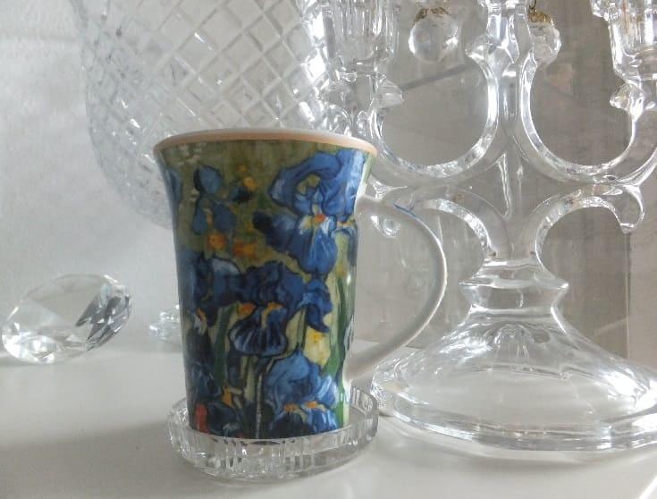 CARMANI - 1990 Vincent van Gogh - Irises - Coffee cup in gift box