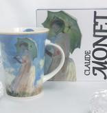CARMANI - 1990 Claude Monet - Spaziergang - Kaffeetasse in Geschenkbox
