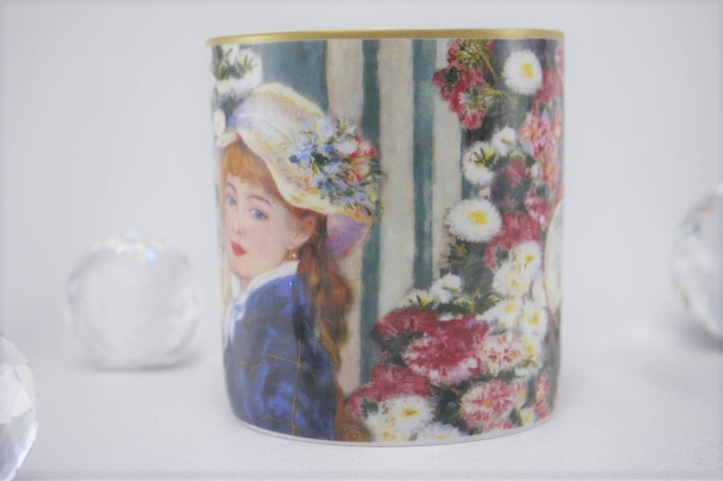 CARMANI - 1990 Pierre - Auguste Renoir - Woman with the fan - coffee cup
