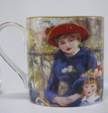 CARMANI - 1990 Pierre - Auguste Renoir - Two sister 1881 - Coffee cup Vanessa