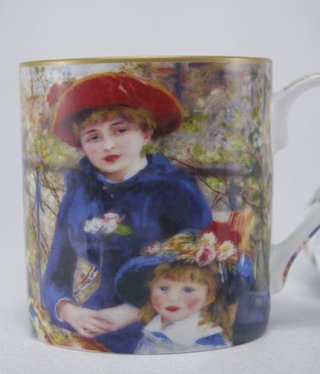 CARMANI - 1990 Auguste Renoir - Coffee Cup - Two Sisters