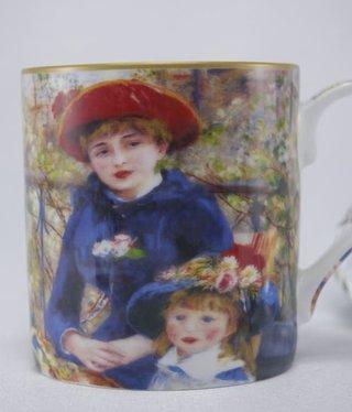 CARMANI - 1990 Auguste  Renoir - Kaffeetasse -  Zwei Schwestern