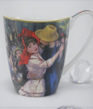 CARMANI - 1990 Auguste Renoir - Coffee Cup Vanessa - Dance in Bougivall