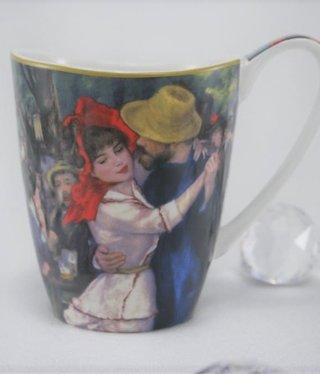 CARMANI - 1990 Auguste  Renoir - Kaffeetasse Vanessa -  Tanz in  Bougivall