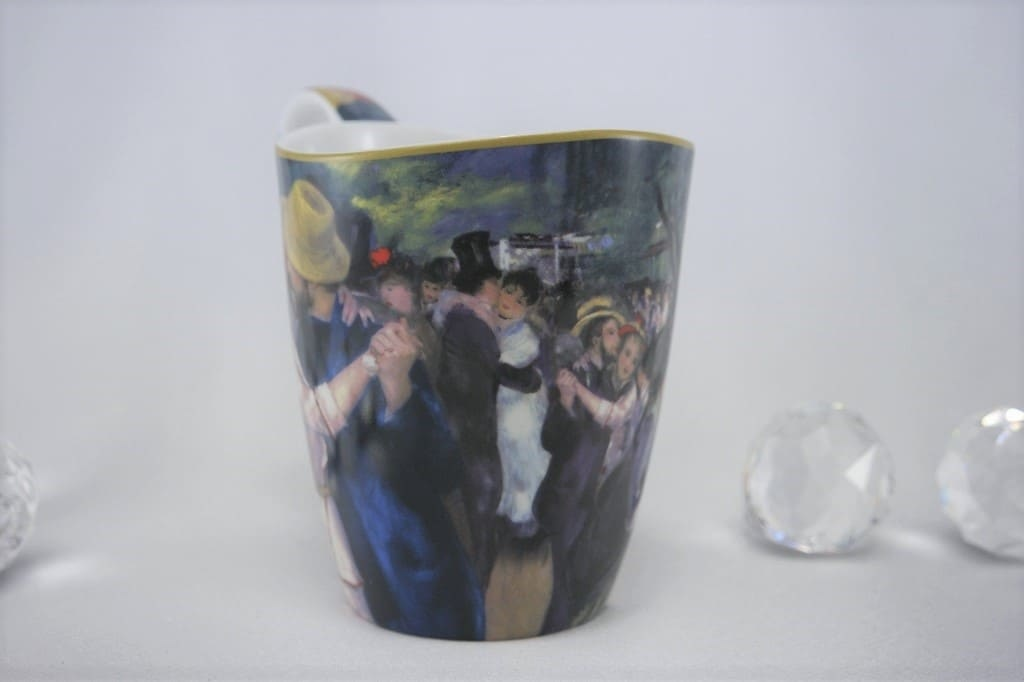 CARMANI - 1990 Pierre - Auguste Renoir - Tanz in Bougivall- Kaffeetasse  Vanessa