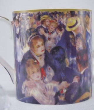 CARMANI - 1990 Auguste Renoir - Coffee Cup - Bal in Le Moulin