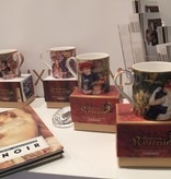 CARMANI - 1990 Pierre -Auguste Renoir - Bal in Le Moulin de La Galette coffee cup in gift box