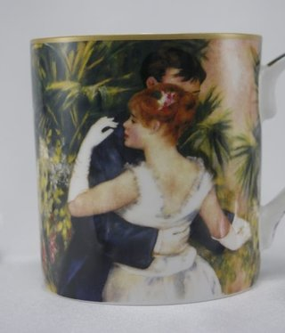 CARMANI - 1990 Auguste  Renoir - Kaffeetasse -  Tanz in der Stadt