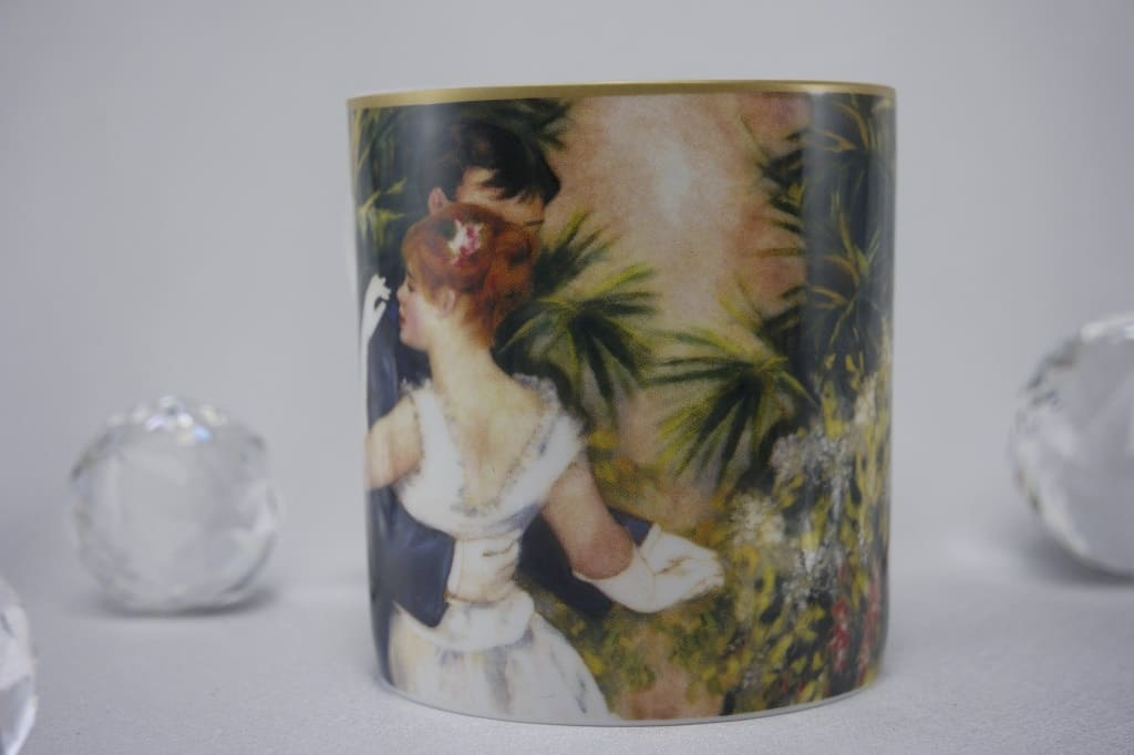 CARMANI - 1990 Pierre - Auguste Renoir - Dance in the city - Coffee cup in gift box
