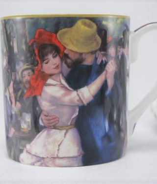CARMANI - 1990 Auguste Renoir - Coffee Cup - Dance in Bougivall