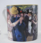 CARMANI - 1990 Pierre -Auguste Renoir -Tanz in Bougivall - Kaffeetasse in Geschenkbox