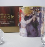 CARMANI - 1990 Pierre -Auguste Renoir dance in Bougivall - coffee cup in gift box