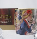 CARMANI - 1990 Pierre -Auguste Renoir - Das Frühstück der Ruderer - Kaffeetasse in Geschnekbox