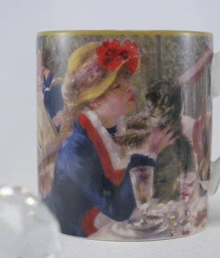 CARMANI - 1990 Auguste Renoir - Coffee Cup - The Breakfast of the Rowers