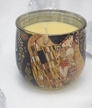 CARMANI - 1990 Gustav Klimt - Der Kuss Duftkerze 01