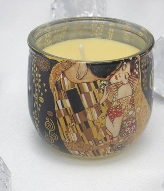 CARMANI - 1990 Gustav Klimt - The Kiss Scented Candle 01